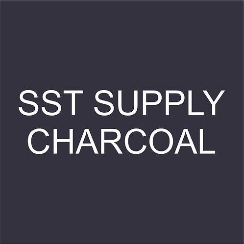 "SST VINYL 15""HEAT TRANSFER CHARCOAL"