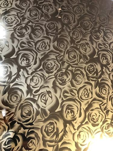 Gold Roses FOIL SHIRT VINYL