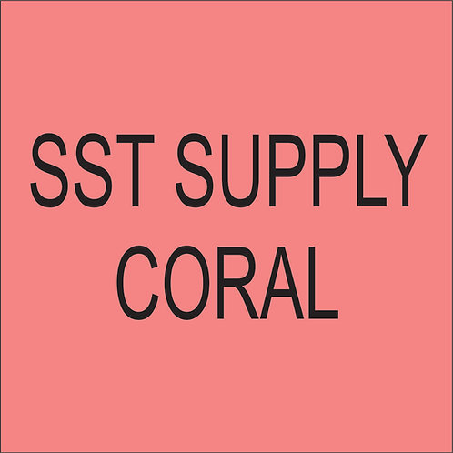 "SST VINYL 15""HEAT TRANSFER Coral"