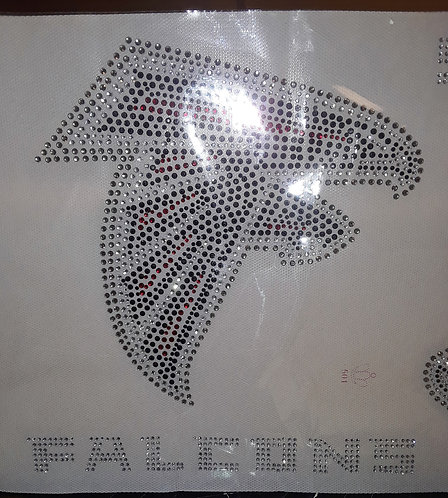 Falcon Rhinestone Motif set of 2
