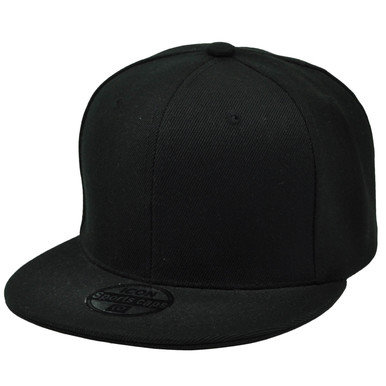 Blank Snap Back Caps