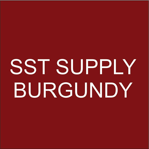 "SST VINYL 15""HEAT TRANSFER BURGUNDY"