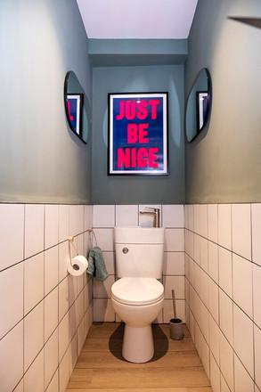 House of Kin, Residential Design, toilet