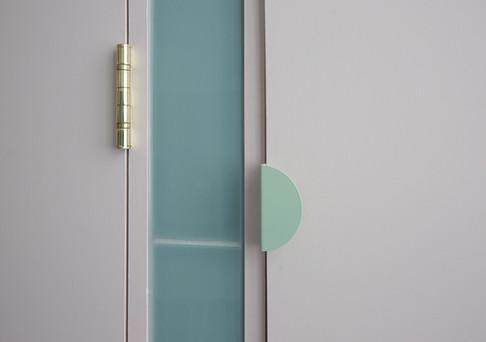 House of Kin, toilet design, door handle