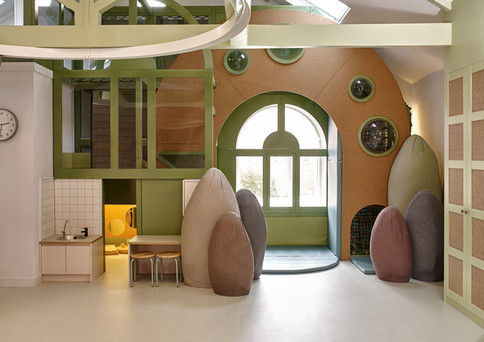 House of Kin, nursery interior, soft pla