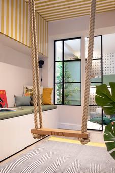 House of Kin, Residential Design, Swing,