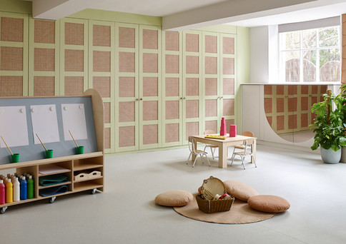 House of Kin, Nursery school design, cla