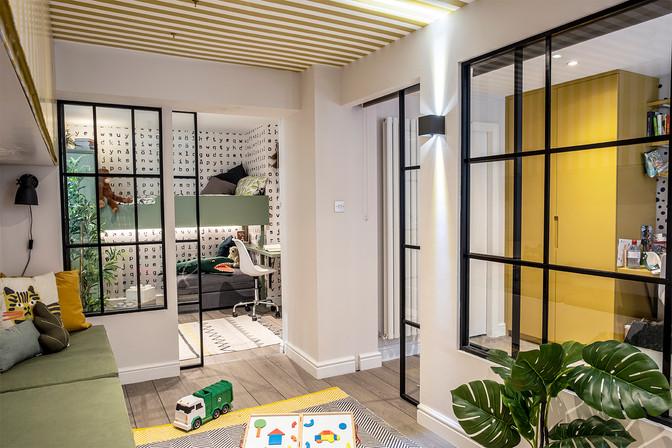 House of Kin, Residential design, Baseme