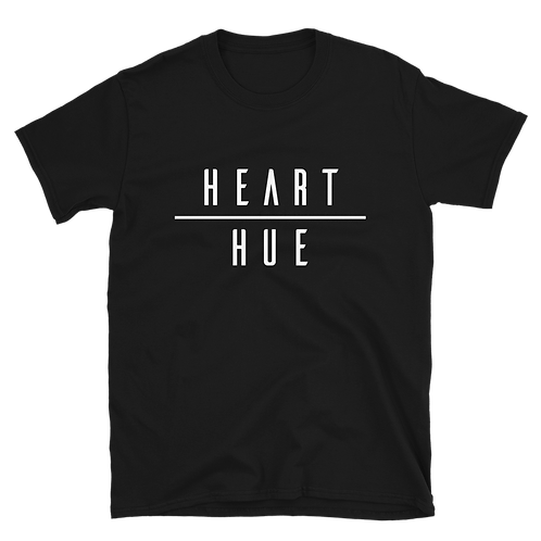 Heart Over Hue Basic Black Tee