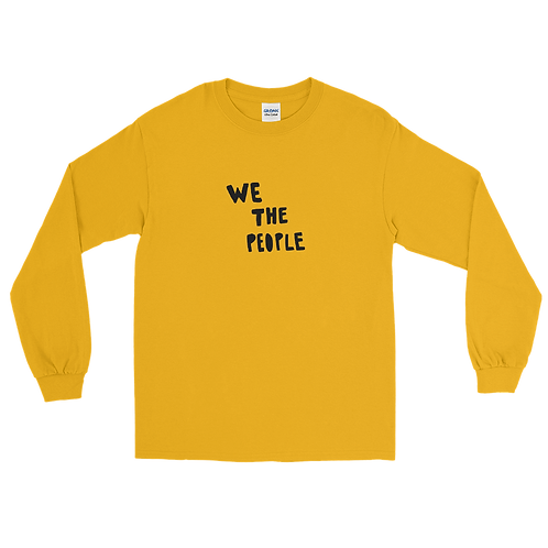 We the People Long Sleeve Tee