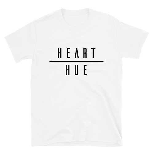 Heart Over Hue Basic White Tee