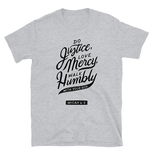 Micah 6:8 Light Tees