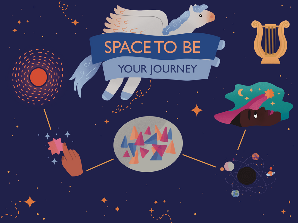Space To Be map