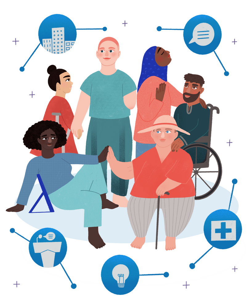 Report cover: Protecting disabled people's rights during Covid-19