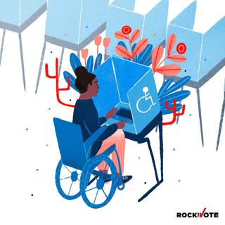Disabled Voter