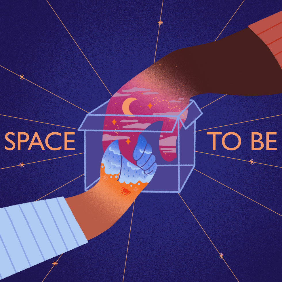 Space To Be poster