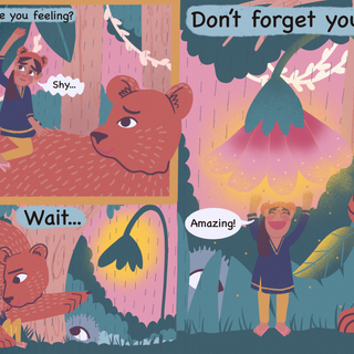 Initial Panel for Bloomsbury