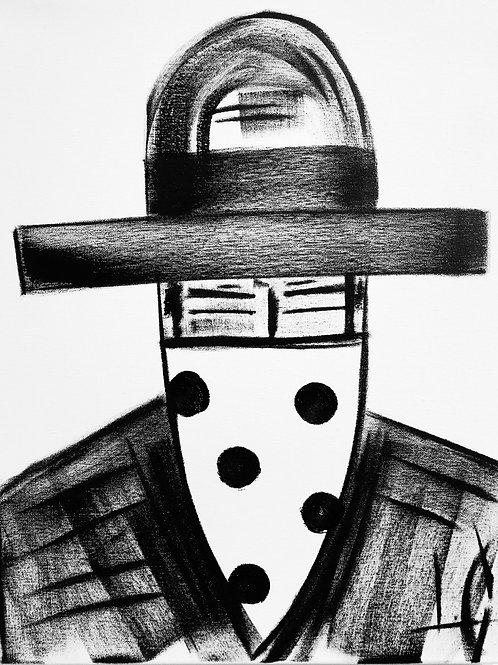 Man in Hat 597