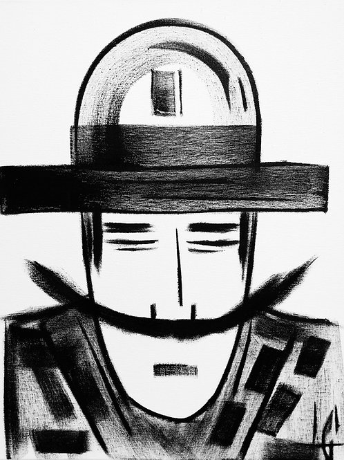 Man in Hat 599