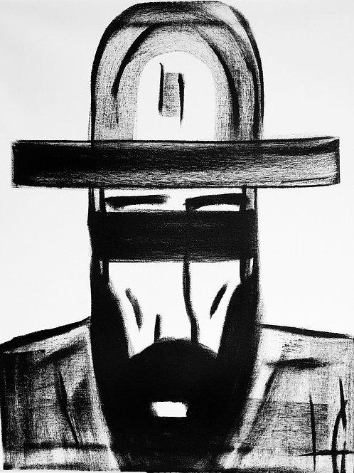 Man in Hat 602