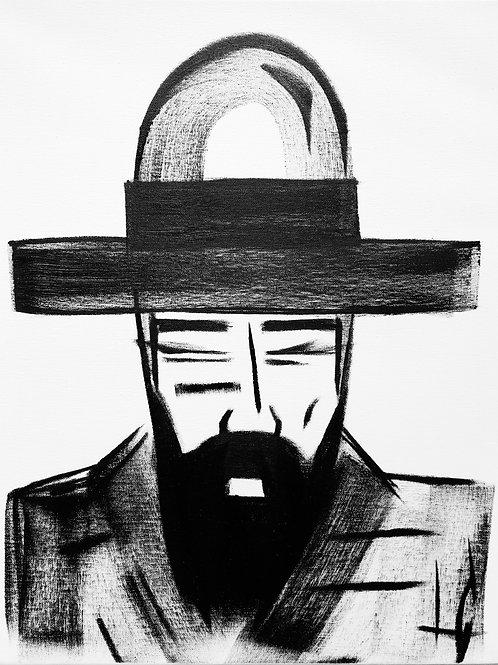 Man in Hat 596
