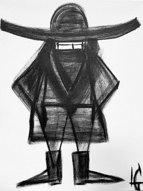Man in Hat 603