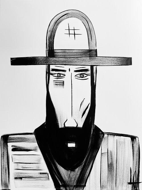 Man in Hat 611