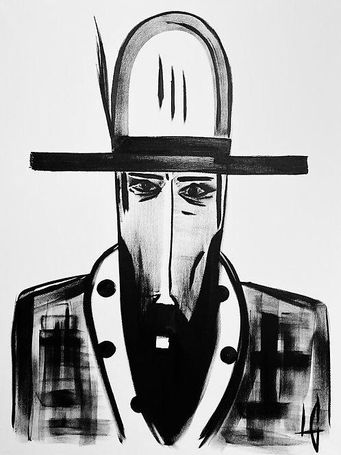 Man in Hat 617