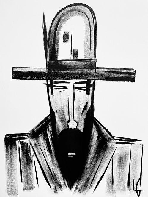 Man in Hat 612