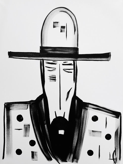 Man in Hat 616