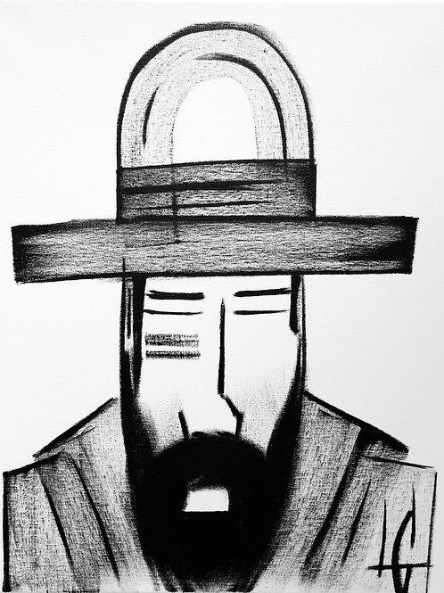 Man in Hat 615