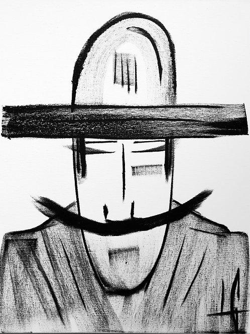 Man in Hat 606