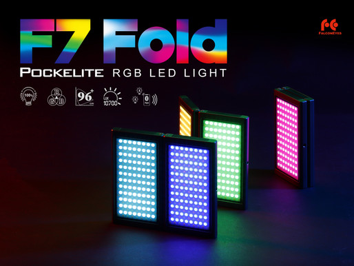 POCKELITE F7 FOLD RGB LIGHT