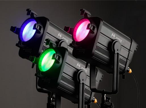 DM2 RGBW LED Fresnel 200W