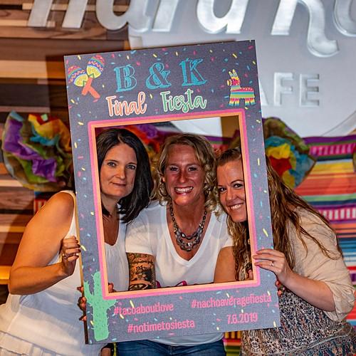 Bob & Kristie's Hard Rock Cafe Party Frames