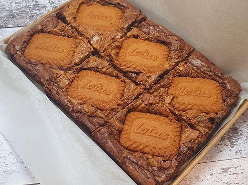 Lotus Biscoff Brownies - Box of 6
