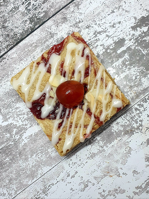 Cherry Bakewell Blondies - Box of 6