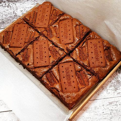 Bourbon Biscuit Brownies - Box of 6