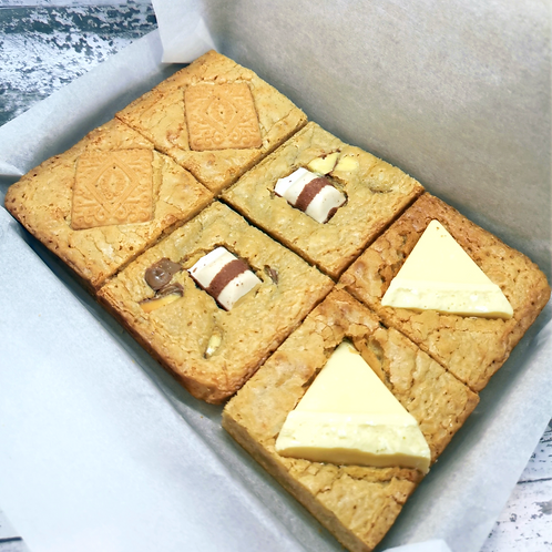 Mixed Blondie Box - 6 Slices