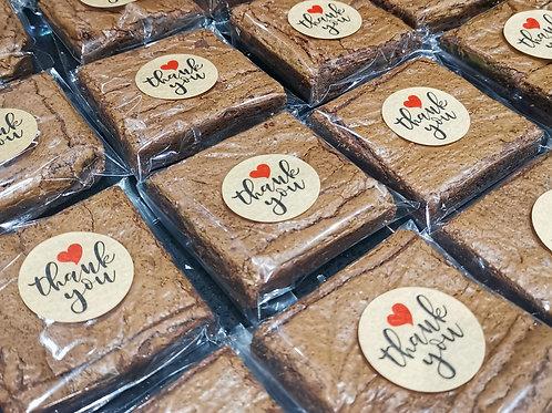 Personalised Brownies & Blondies - 9 Slices
