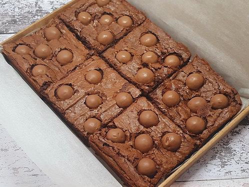 Malteser Brownies - Box of 6