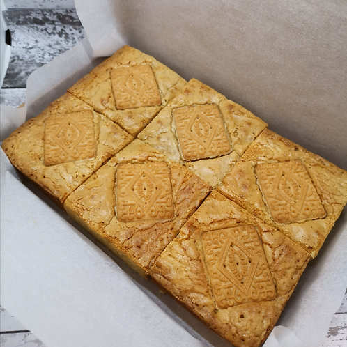 Custard Cream Blondies - Box of 6