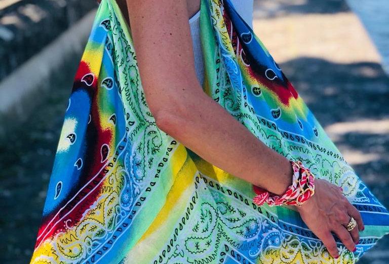Beach Bandana Bag MINT