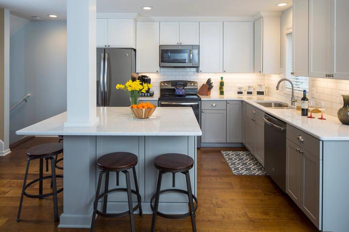 Kitchen Remodel by Bonn Group America Construction in Washington D.C
