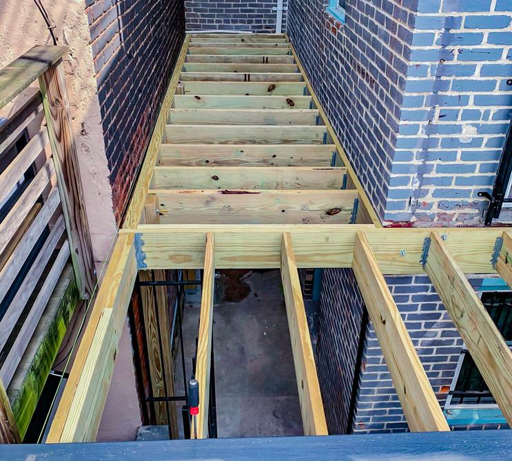 Deck Construction By Bonn Group America Construction