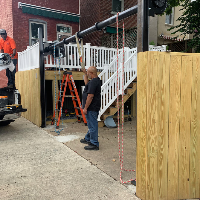 Deck Construction by Bonn Group America Construction in Washington D.C