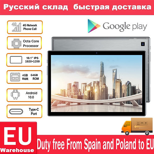 Teclast P20HD 4G Phone Call 4GB RAM 64 ROM Tablet PC 1920x1200 Android 10  Octa