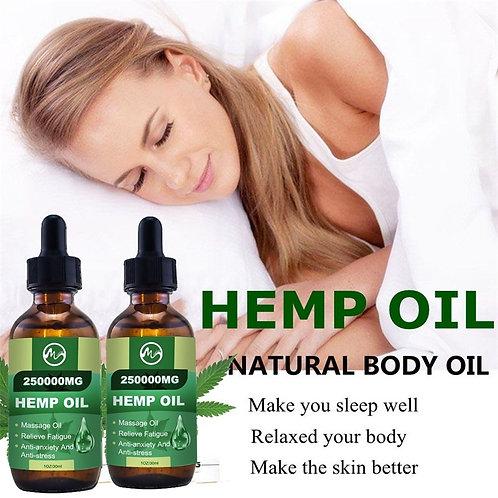 Minch 250000MG CBD Skin Oil Hemp Pain Relief Oil Reduce Anxiety Help Sleep