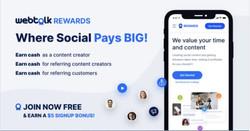 Webtalk - New Reward Program