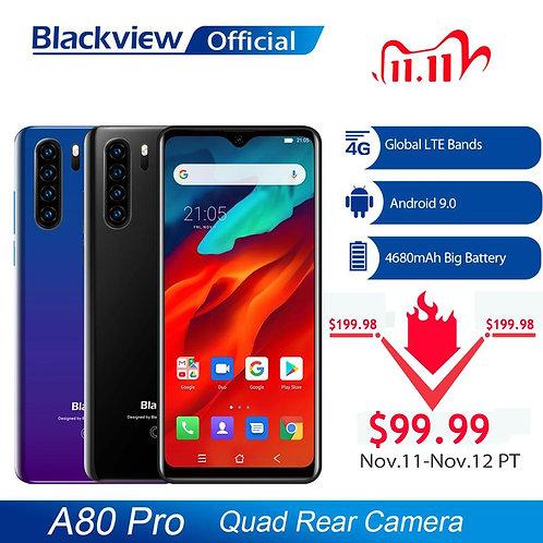 Global Version Blackview A80 Pro Quad Rear Camera Octa Core 4GB+64GB